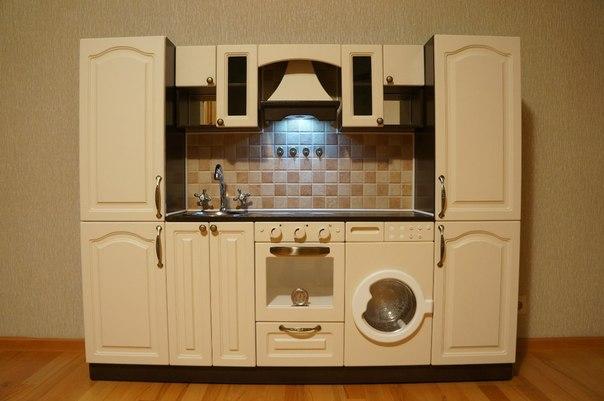 Кукольная кухня своими руками из картона - Sort-metall.ru