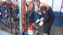 Заправка 12 5 литрового полимерно композитного газового баллона