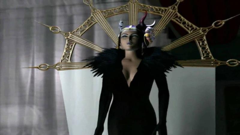 FF VIII Cutscene 14 - Sorceress Edea HD