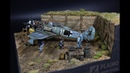 Focke Wulf 190 Maintenance Airfield Diorama 1 48