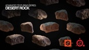 Texturing for Film and Games | Desert Scene Series - Desert Rock | Substance Painter