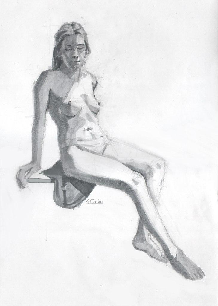 Kristoff learnes to draw! ^_^