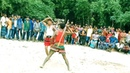 Traditional Lathi Khela Stick Play Stick Dance Performance By The Two Young Man