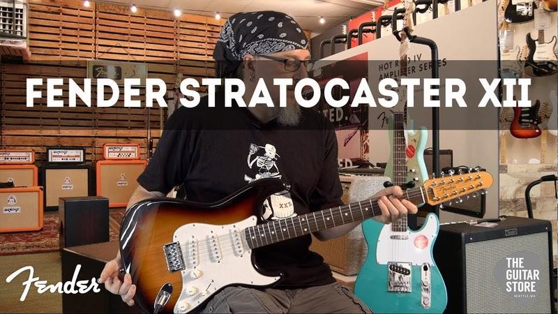 Fender Stratocaster XII DEMO