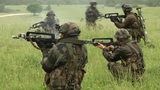 Multi National Forces in Heavy Combat Action Training - Offensive Operations