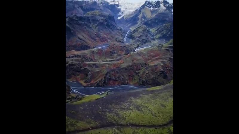 Потрясающая природа Исландии