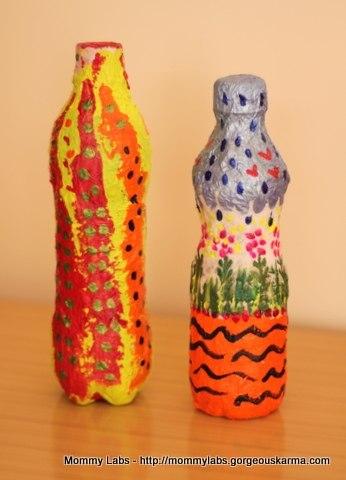 Маракасы своими руками из пластиковой бутылки