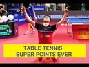 TABLE TENNIS ITTF Super Points best points ever
