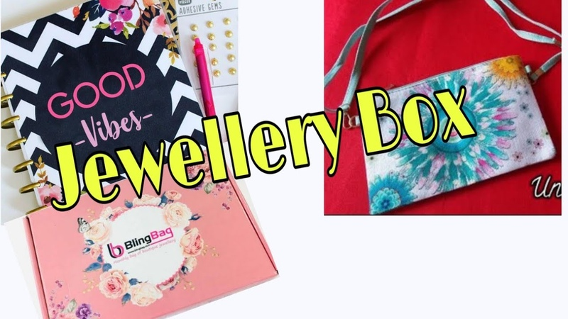 Bling Bag January 2019 Unboxing || Jewellery Subscription Box
