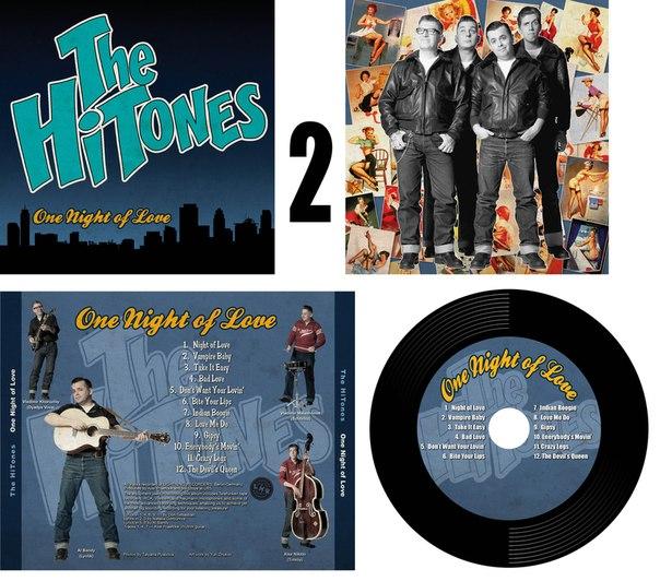 НОВОСТИ ЗВУКОЗАПИСИ! The HiTONES - One Night of Love.