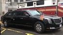 По прозвищу Зверь новый лимузин Дональда Трампа впервые показался на публике в Нью Йорке