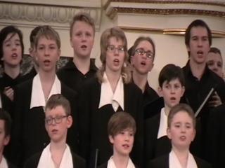 Юбилелйный концерт хоровой студии мальчиков и юношей СПб. 13 апреля 2018 года. Дж. Верди. Хор из оперы