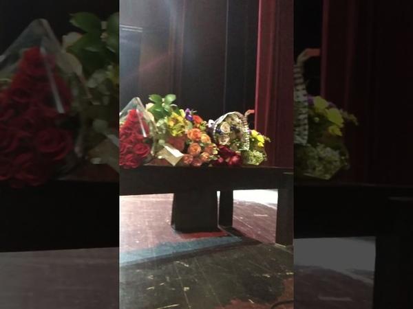 о.Фотий, окончание концерта в Крокусе