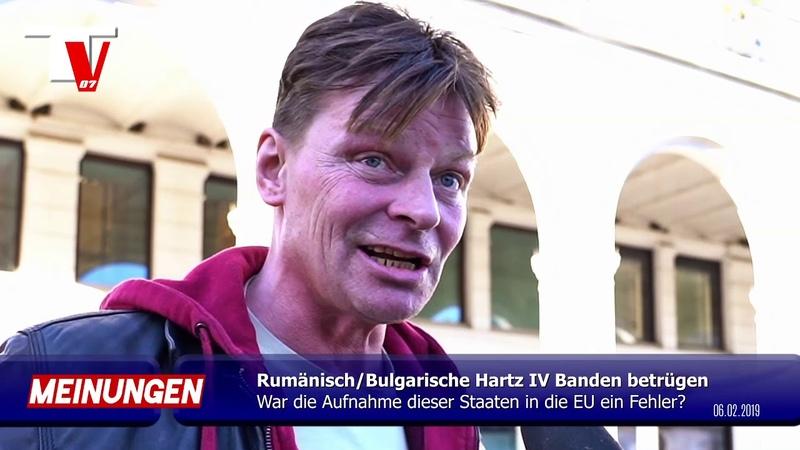 OBDACHLOSER Rumänische Banden ziehen Deutsche im Bettelwesen ab