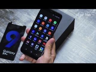 Самая точная Копия Samsung Galaxy S9 Plus обзор