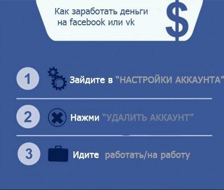 Заработок денег вконтакте