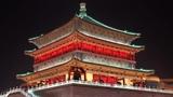 Xi'an, China City Walls &amp Goose Pagodas
