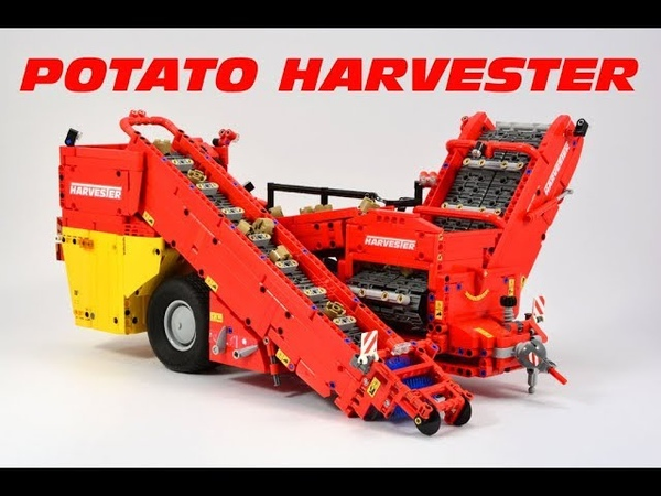Lego Technic Potato Harvester - 42054 Claas Xerion 5000 Attachment
