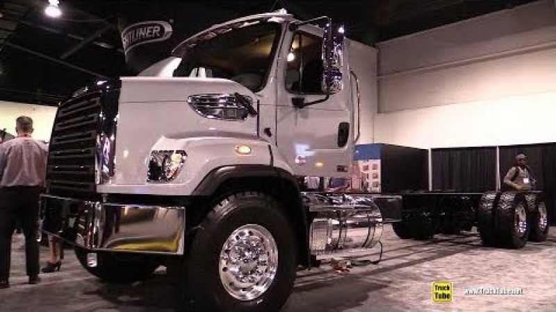 2018 Freightliner 108 SD Truck - Exterior and Interior Walkaround - 2018 Truckworld Toronto