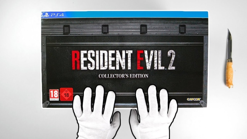 Resident Evil 2 Remake Collectors Edition Unboxing Review (Limited European Version)
