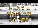 Klay Thompson x Damian Jones after practice from Warriors HQ, 2 days before Seattle preseason game