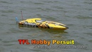 TFL Hobby Persuit 1106 RC Speed Boat River Drive