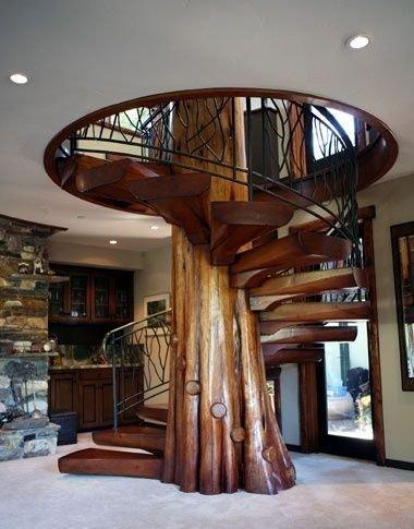 Фантастическая лестница (1 фото) - картинка