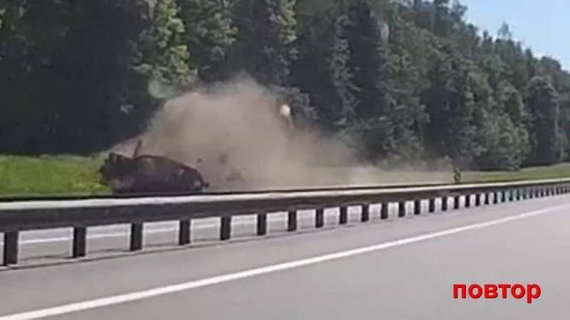 Страшное ДТП на 89 км трассы М8 р н пос Бужаниново 26 мая 2018г