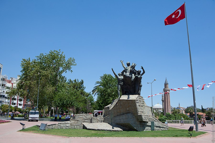 Турция Анталия достопримечательности город