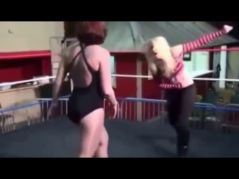 Part 2: Belly Punching Compilation in Female Wrestling