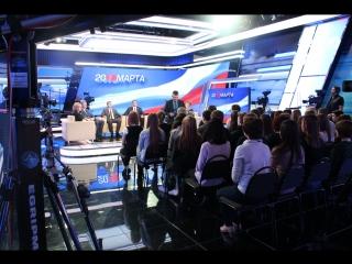 Большой телемарафон состоялся в студии ГТРК