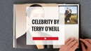 CELEBRITY BY TERRY O'NEILL PHOTOGRAPHY BOOK