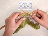 Вязание спицами. Урок 66. Жаккардовый рисунок.