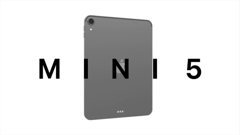 New iPad mini 5