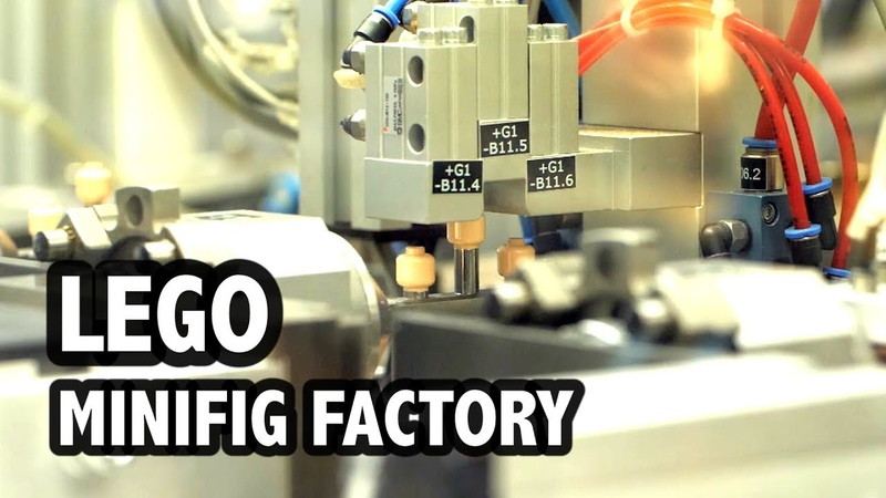 Inside the LEGO Minifigure Moulding Factory