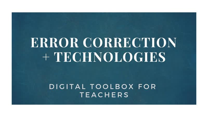Error correction (VK)