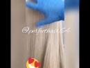 Густые волосы блонд