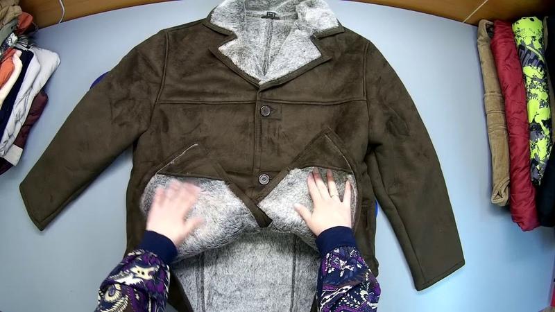 СЕКОНД ХЕНД Артикул С 235. Упаковка № 12. Куртки жм зима. Страна Англия.