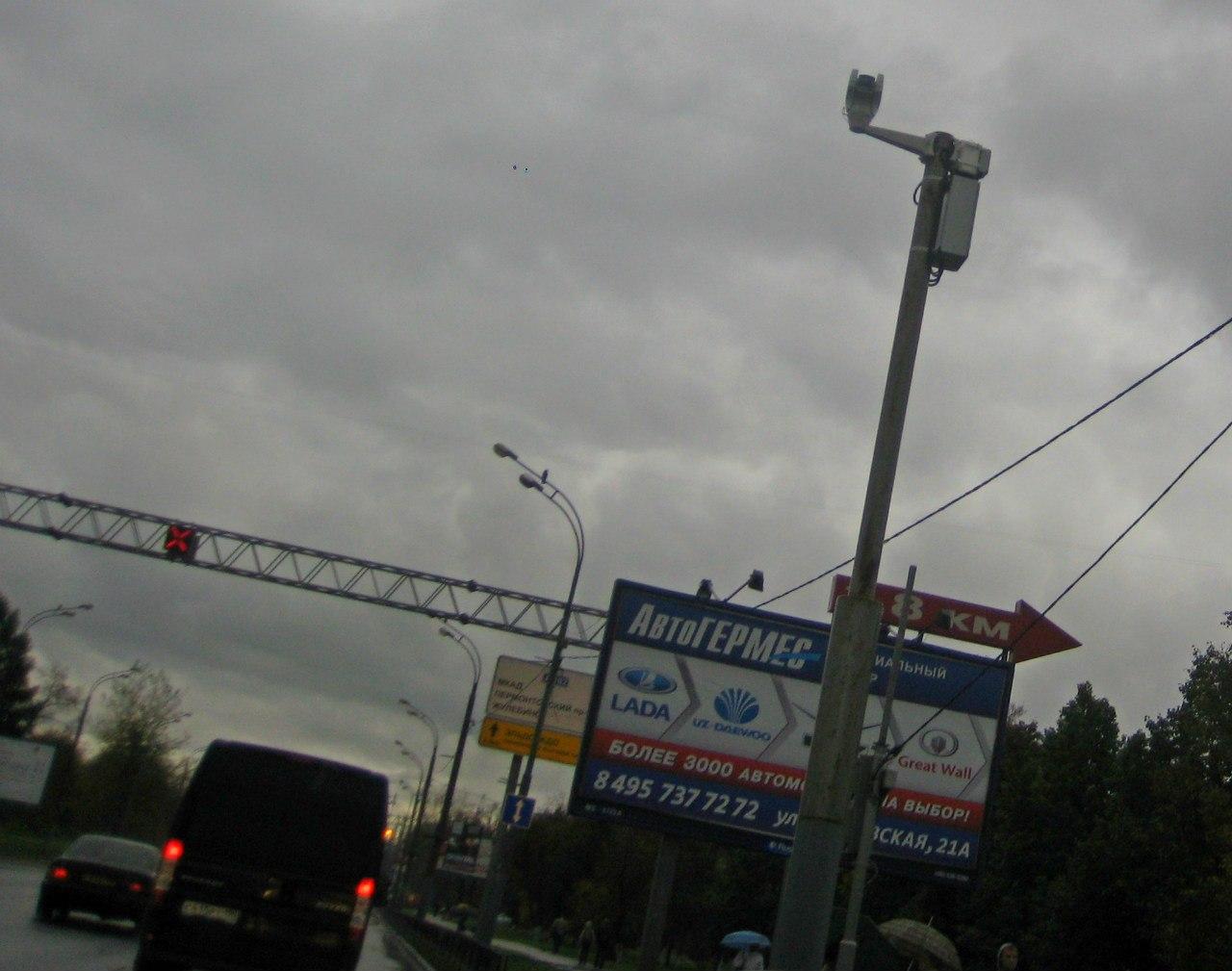 Камера ГИБДД на Рязанском проспекте 78, с.1 (350 м до поста ГАИ)