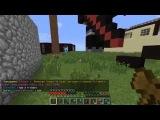 Minecraft 1.4.7 Сетевая игра сервер SparkCraft часть 1 Мой друг и приват территории :)
