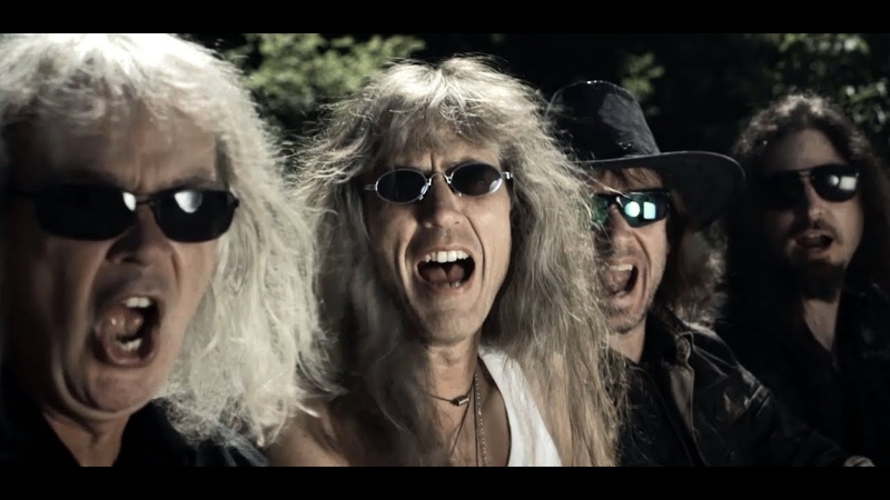GRAVE DIGGER ft. RUSSKAJA - Zombie Dance (Official Video)   Napalm Records