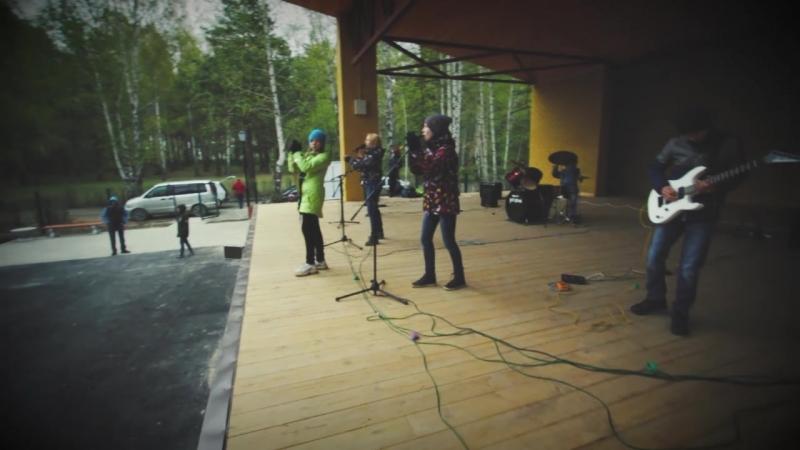 Выступление Школа Рока Среднеуральск в парке г. Верхняя Пышма