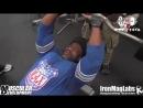 Декстер Джексон- Тренировка рук неделя до Олимпии 2014 - RUS SportFaza.mp4