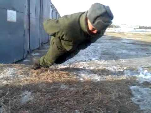 Russian Army Super Secret: No Hands Push Ups