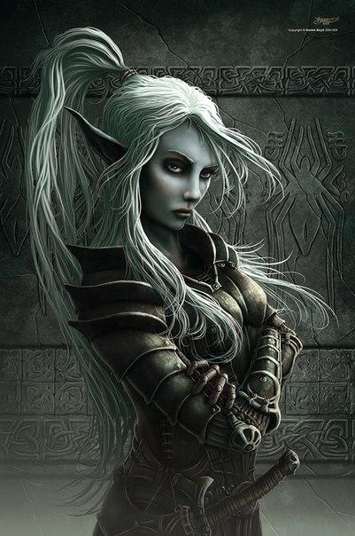 Раса колдуны ведьмы способности