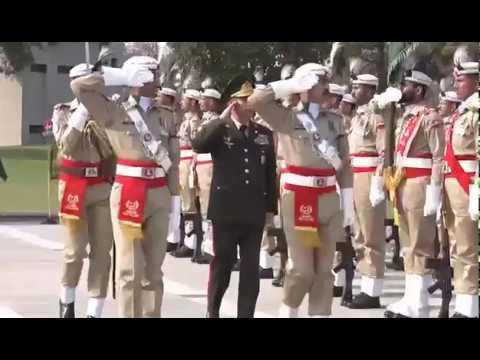 Azərbaycanın Müdafiə naziri Pakistanın Quru Qoşunları komandanı ilə görüşüb - 22.03.2019