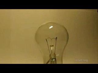Плазменный шар из лампы накаливания. (сделай сам)