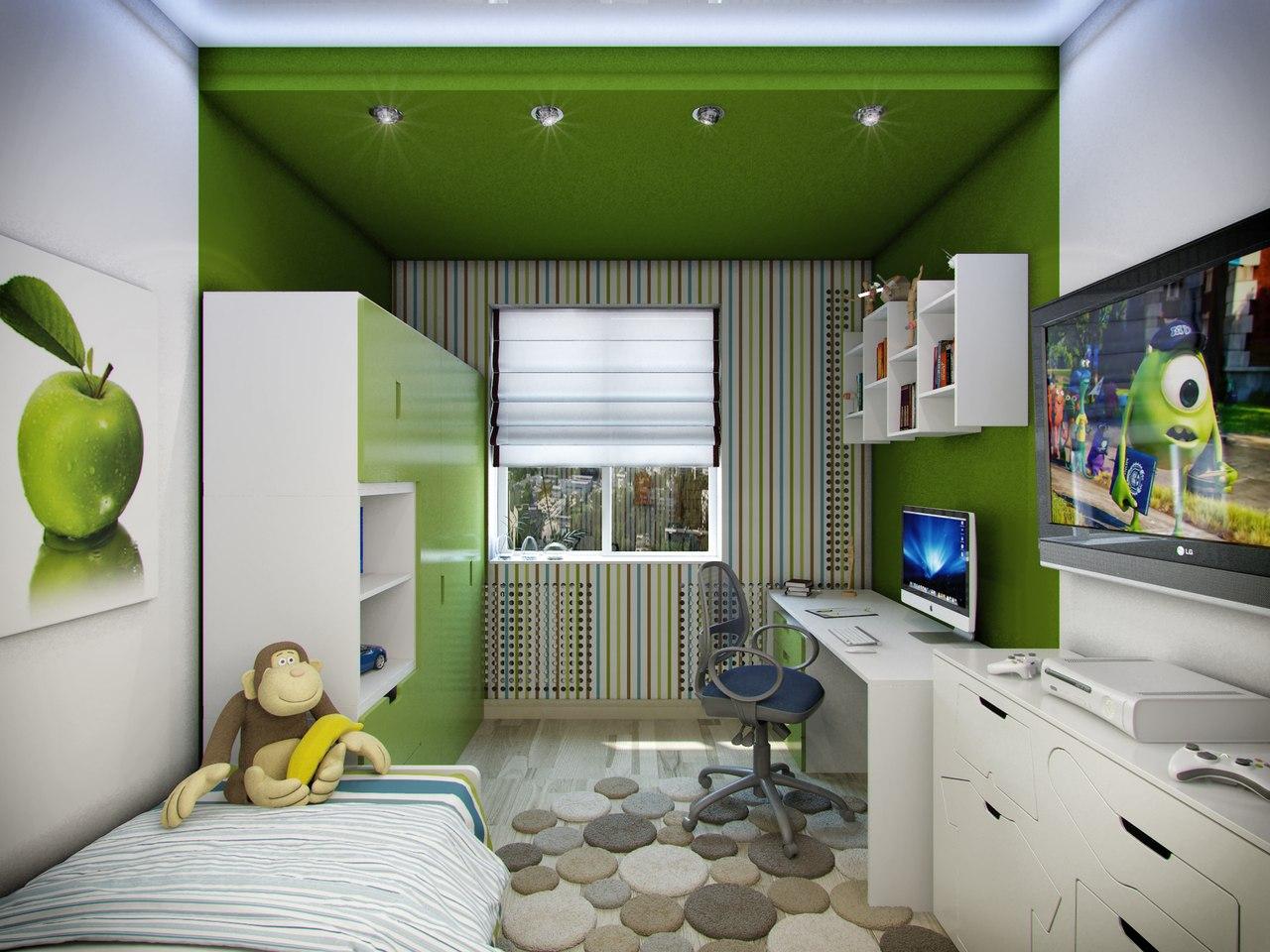 Детская комната для мальчика подростка дизайн