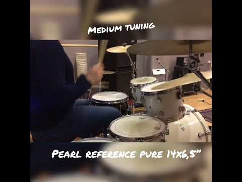 Pearl Reference Pure Snare 14x6,5 Sound Test