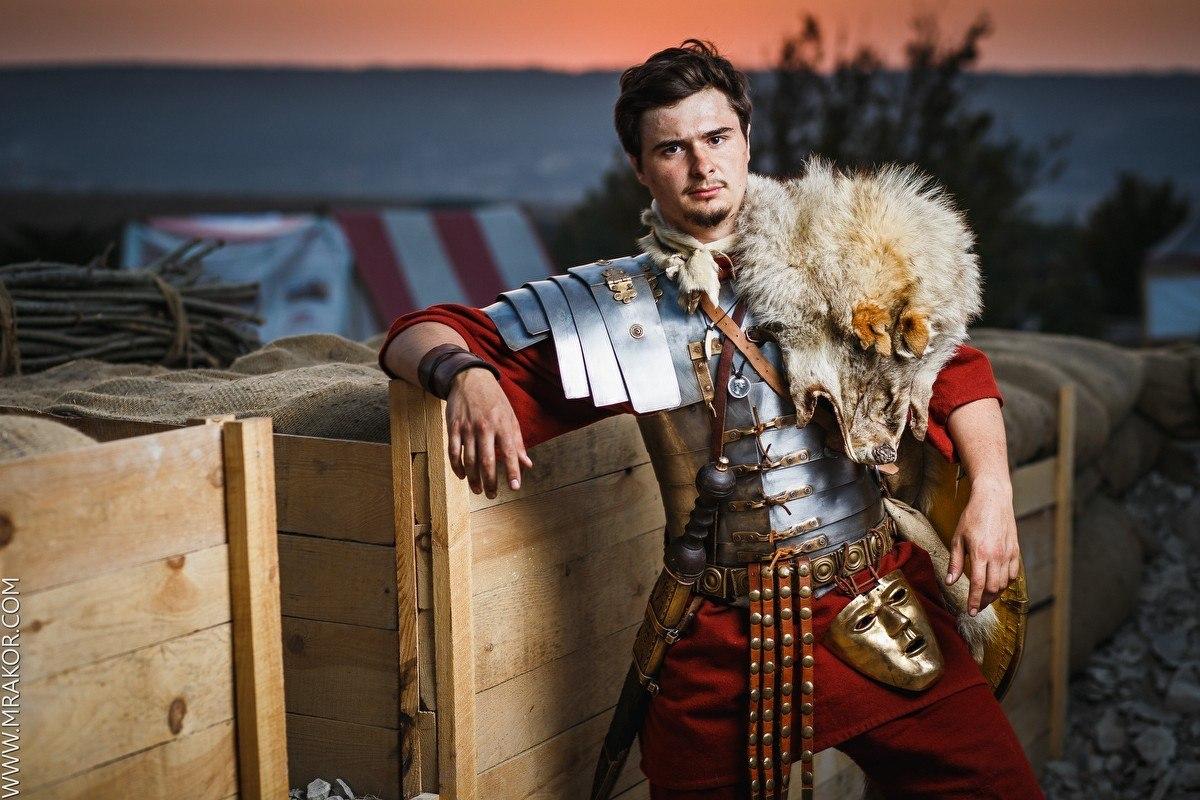 Михаил Касаткин - римский легионер